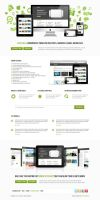 Spotlight Product Launch Theme PSDs Files for Free by bestpsdfreebies