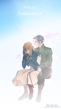 Violet Evergarden by 1Day4Dreams