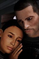 Ash and Shepard by Jhourney