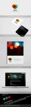 AgNO3 Media - Identity and Web by freakyframes