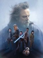 New Star Wars: The Last Jedi Cast Promo Art by Artlover67