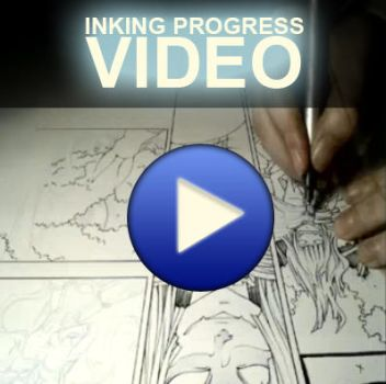 inking progress - tutorial by demoniacalchild