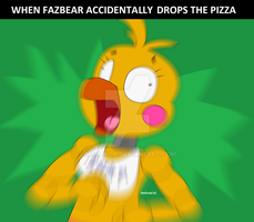 Dont Drop The Pizza by Mallinda