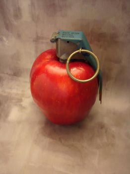 Apple grenade by foundry-wolf