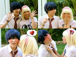 Rin and Shiemi by OurLivingLegacy