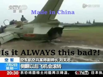 Made in China - Demotivator of the PLAAF by Dumbrarere