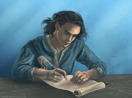 The Writer by wayleri
