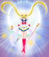 Super Saint Sailor Moon by AlbertoSanCami