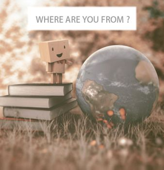 Where are you from? by KhaledReese