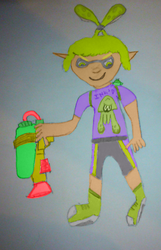 Sleak Disyne - Splatoon by SpeedyDVV