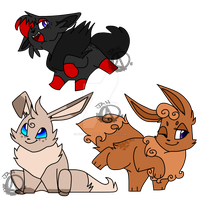 100 Potential Clutch For Sale Zorua is Leftover! by PuppytheKat