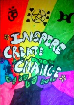 Inspire Create Change Coexist by LivelovelifeEleni