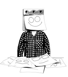 Post It Head by Dranos