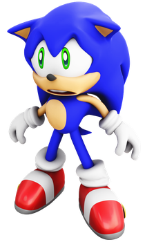 Adventure Sonic Sad face by ModernLixes