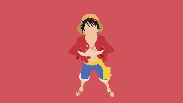 Monkey D Luffy (One Piece) by ncoll36