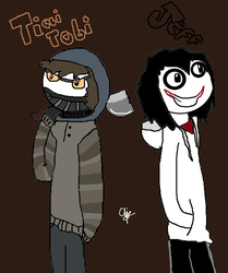 Ticci Toby Y Jeff The Killer by 1thelegendofmarioX8