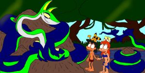 The Poke Book: Nagini's Talk with Ash and Misty by SammyD-Productions