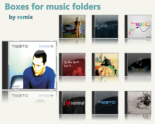 Box for folders music by remix0000
