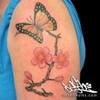 butterfly  by DESEO-ONE