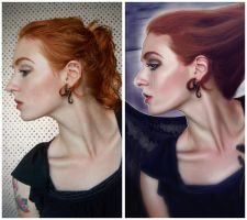 My Immortal before and after by MelanieMaterne