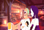 [One Piece] Drinking Partners by CharleneRosette