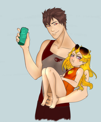 Uncle Qrow by Pasfz