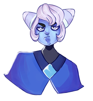 doesnt sound like a wise thing to do, holly blue by SapphicWizard