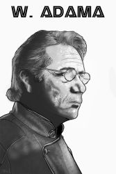 William Adama by lacroixchris