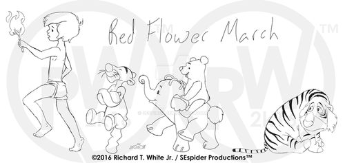 Red Flower March-Concept Roughs by SEspider