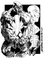 The Peacemakers: English Ape by jakebilbao