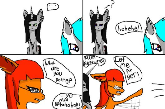 OS ponies short: what makes chicago mad by windowsOS-tan-artist