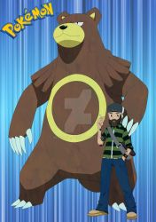 Bear The Pokemon Trainer by Nitsono