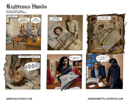 Righteous Hands web comic #2 by jemurr