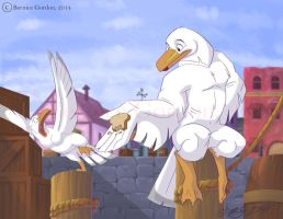 Big Seagull, Little Seagull by tarkheki