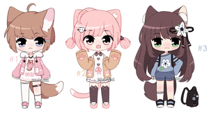 closed | Cute adoptables (Auction) by Sekuchi