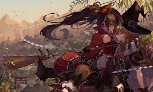 Though the scent lingers by kawacy