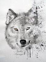 Save the Wolf by NadienSka