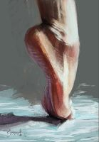 foot study by SalvDivin