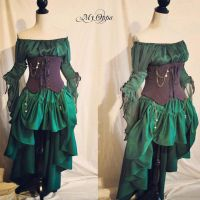 Custom order Ariel Steampunk by myoppa-creation