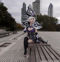 Syndra The Dark Sovereign by RedfieldClaire