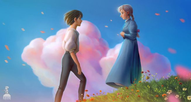 Howl's moving Castle by Ardinaryas