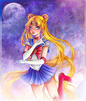 Sailor Moon - Usagi Tsukino by Brillantezza