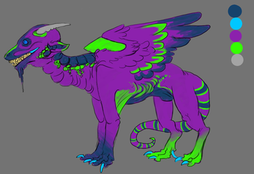 What a colorful creep by T4pew0rm