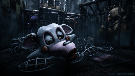 Tossed out with the 'trash' (FNAF2 Mangle SFM) by gold94chica