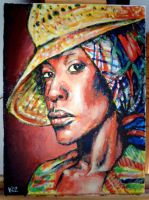 Erykah Badu by koolkiz