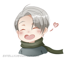 Yuri on Ice: Chibi Vitya by Estelly