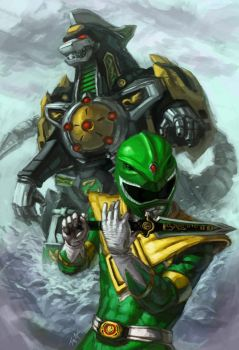 Release the Dragonzord by jeffszhang