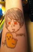 Prussia Has Invaded My Arm by LovelyLiv