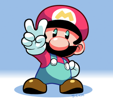 Mario by rongs1234
