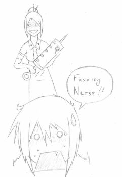 F***ing Nurse by ClayBombCola